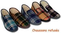 Chaussons refuses